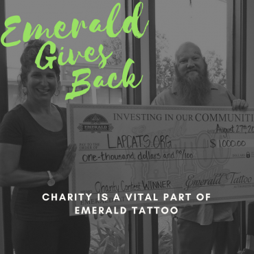 Emerald Gives Back