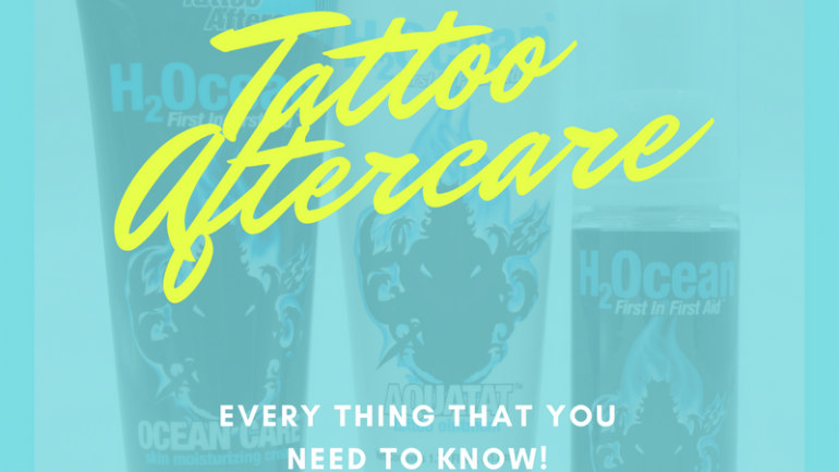 Tattoo Aftercare: Now What?