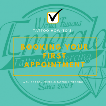 Tattoo How-To's: Booking Your First Appointment
