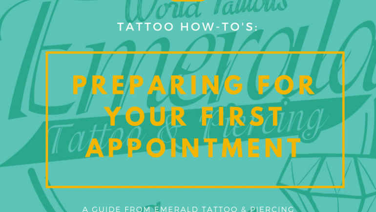 Tattoo How To's: Preparing For Your First Tattoo