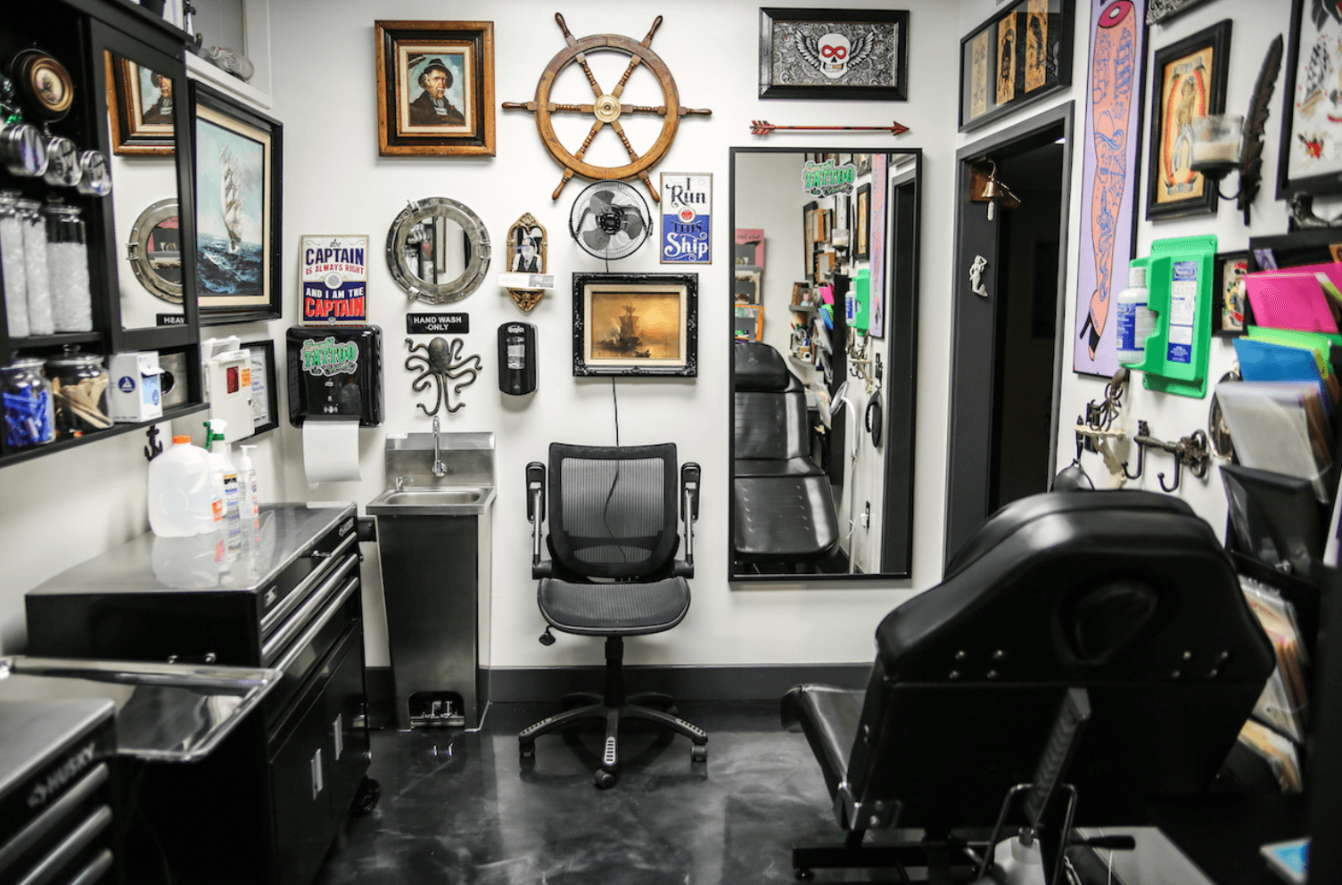 Tattoo parlor green-lighted for Old Town