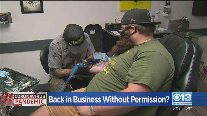 Some Stanislaus County Businesses: Reopen Without Permission